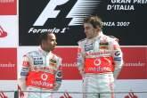 , , Lewis Hamilton (GBR) McLaren MP4/22, Fernando Alonso (ESP) McLaren MP4/22,Italian F1, Monza, 7-9th,