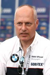 ,  - Peter Mueller, Vice Pesident BMW Devolpment model lines Misano WSBK 2008