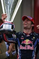 , - Race, Mark Webber (AUS), Red Bull Racing, RB6 race winner