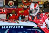 Harvick on pole for Darlington Cup race