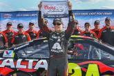 Gordon takes Michigan pole with track record