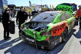 Busch fastest, Danica wrecks in Daytona practice