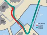 Singapore GP tweaks Marina Bay layout