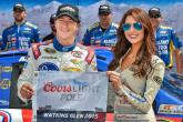 Allmendinger on the right road with pole at the Glen