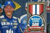 Rain hands Earnhardt victory as final four is set