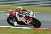 Bridewell slides to pole as Haslam falls