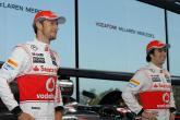 Perez and Button both look for title with new MP4-28