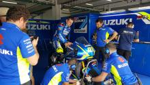 PICS: Michael Dunlop's Suzuki MotoGP test