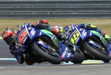 Vinales and Rossi