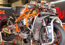 KTM Moto2 chassis