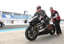 Ducati Panigale V4 debuts with Zanetti at Jerez