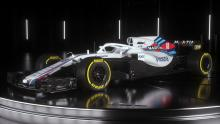 Williams unveils FW41 F1 car for 2018 season