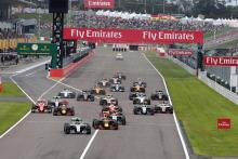 Japanese Grand Prix, race start, 2016