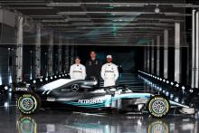 F1 champions Mercedes reveal W09 at Silverstone