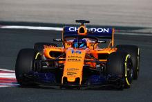 Alonso handed first extended McLaren F1 run in testing