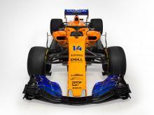 McLaren reveals papaya-orange MCL33 2018 F1 car