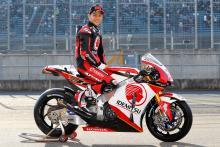 Nakagami unveils 2018 MotoGP livery