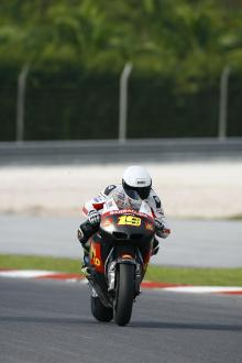 Bautista, Sepang MotoGP tests, 31st Jan-2nd Feb 2012