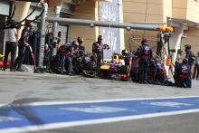 21.04.2013- Race, Mark Webber (AUS) Red Bull Racing RB9