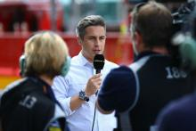 Matt Roberts and BBC TV camera, Italian MotoGP 2013