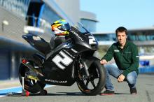 Herrin, Moto2/3 tests, Jerez, November 2013