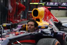 24.11.2013 - Race, 2nd position Mark Webber (AUS) Red Bull Racing RB9