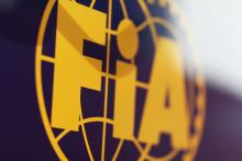 FIA logo.29.01.2014. Formula One Testing, Day Two, Jerez, Spain.
