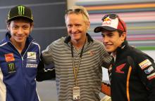 Rossi, Schwantz, Marquez, Grand Prix of The Americas, 2014