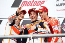 Pedrosa, Marquez, Dovizioso, MotoGP race, Grand Prix of the Americas 2014