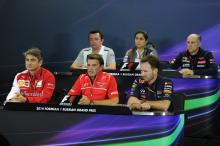 F1 Russian Grand Prix - Friday press conference