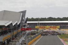 British Grand Prix - Starting grid