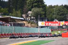 Belgian Grand Prix - Starting grid