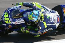 PIC: 'Watch out for sharks!' Rossi's Misano helmet