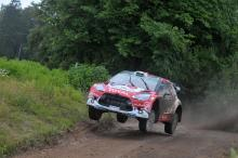 Citroen pair scamper through Rally Poland