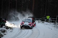 Rally Sweden stage cancelled on safety grounds