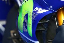 Vinales new Yamaha fairing, German MotoGP 2017