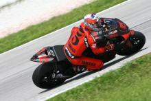 Edwards, Sepang MotoGP test, January 2007