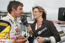 Jason Plato with Louise Goodman