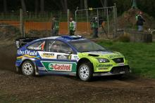 Mikko Hirvonen (FIN) / Jarmo Lehtinen (FIN), BP Ford Focus RS WRC 07. Rally New Zealand. 31st August