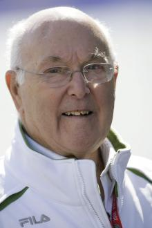 Murray Walker (GBR), British F1, Silverstone, 4-6th, July, 2008