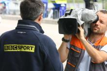 BBC camera, German MotoGP 2008