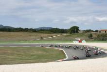 Bayliss, Race Start, Vallelunga WSBK Race 1 2008
