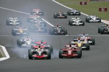 Start, Japanese F1, Fuji, 10th-12th, October, 2008