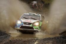 Valentino Rossi (ITA) Carlo Cassina (ITA), Ford Focus RS WRC 07, Stobart VK M-Sport Ford Rally Team
