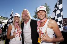 Richard Branson (GBR) Virgin CEO, Australian F1 Grand Prix, Albert Park, Melbourne, 27-29th, March,,