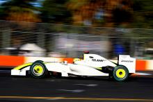 Jenson Button (GBR) Brawn Mercedes Benze ING Australian Formula 1 Grand PrixRd 1 World F1 Ch