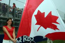 Canadian Grand Prix grid girl