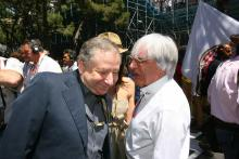 29.05.2011- Race, Jean Todt (FRA), President FIA and Bernie Ecclestone (GBR), President and CEO of F
