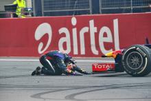 Vettel reprimanded over donut celebrations