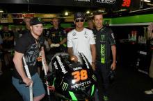 Ryan Villopoto visits MotoGP
